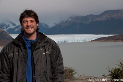 Yo y el Perito Moreno