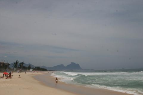 Praia con la gavea al fondo