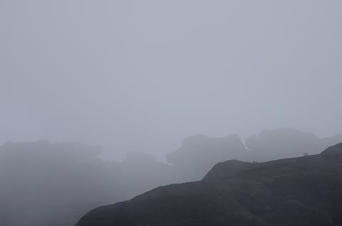 Roraima con neblina