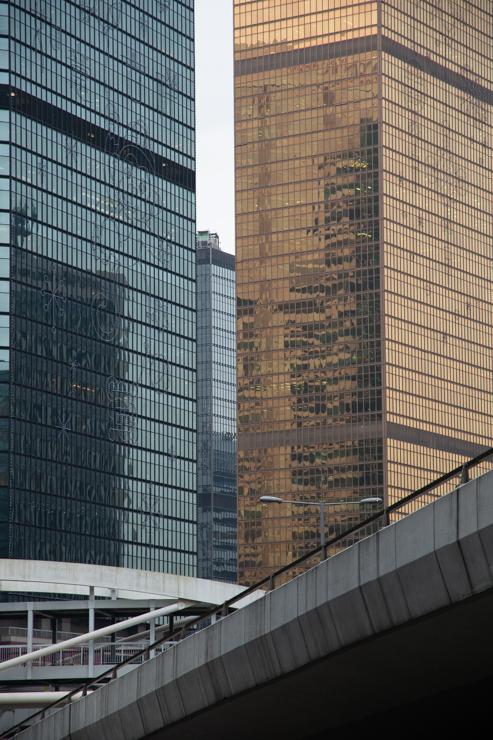Modernos edificios Hongkoneses