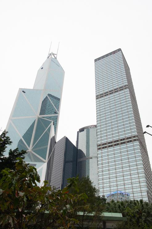 Famoso edificio Hongkonés