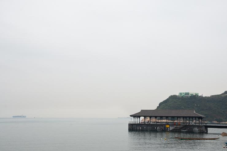 Blake Pier, de donde salían barcos del imperio inglés