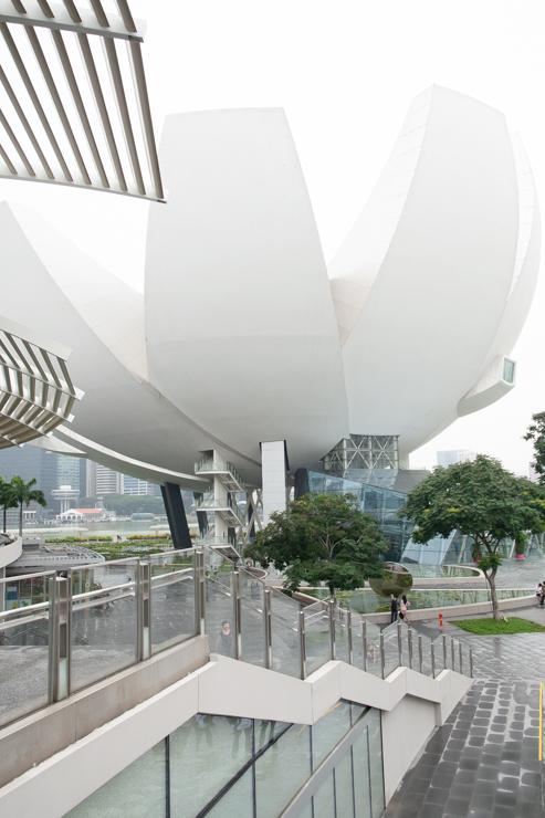 El museo de artes y ciencias de Singapur