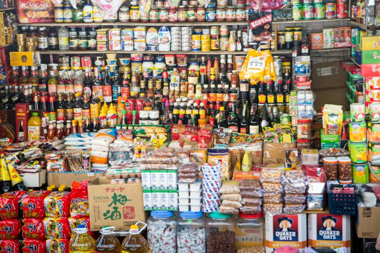 Ventorrillo de salsas y granos, Ho Chi Minh