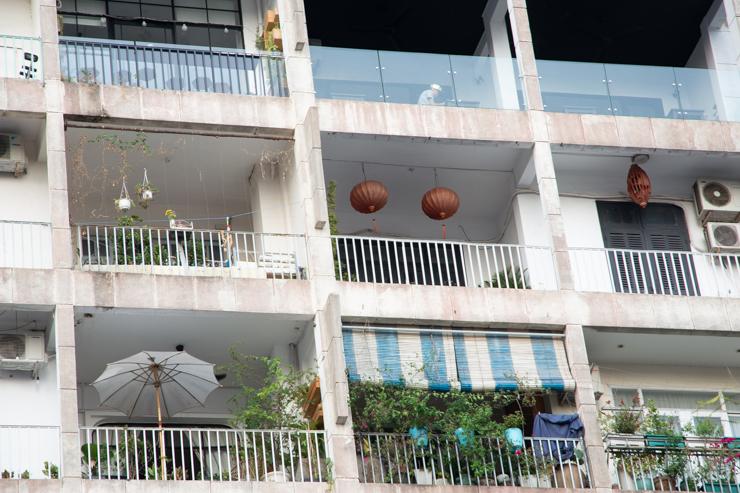 Balcones pimpiados según el dinero del propietario