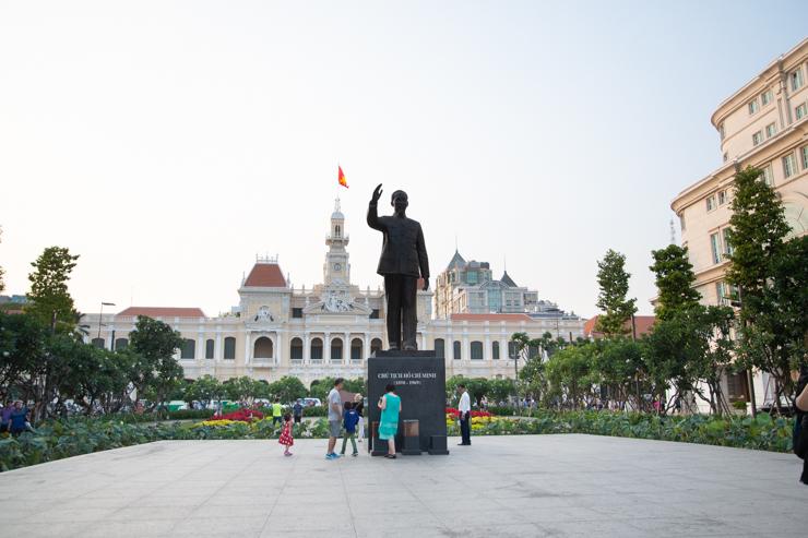 Ho Chi Minh en Ho Chi Minh o Saingón