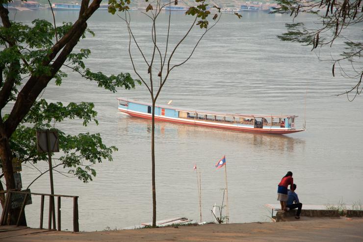 El puerto de Luang Prabang