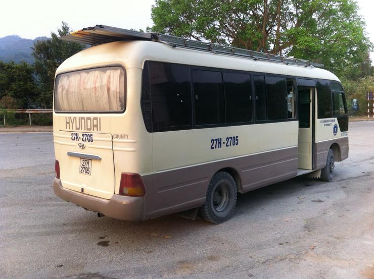 El bus del camino... parece bueno pero era una mierda