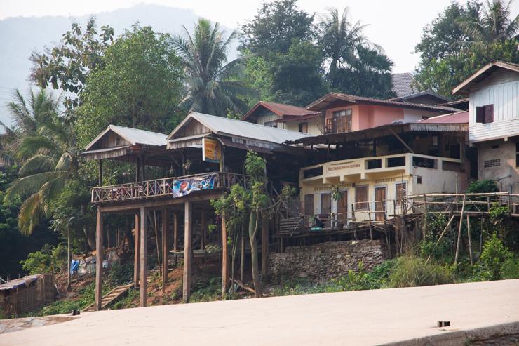 El hostal/bar/restaurante Nam Ou