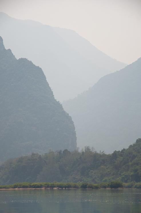 Paisaje del río Nam Ou