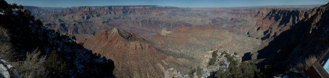 Panorámica del cañón