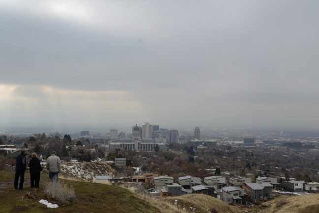 Lindo cielo de Salt Lake City