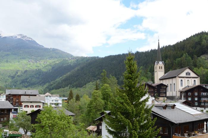 El pueblo de Fiesch