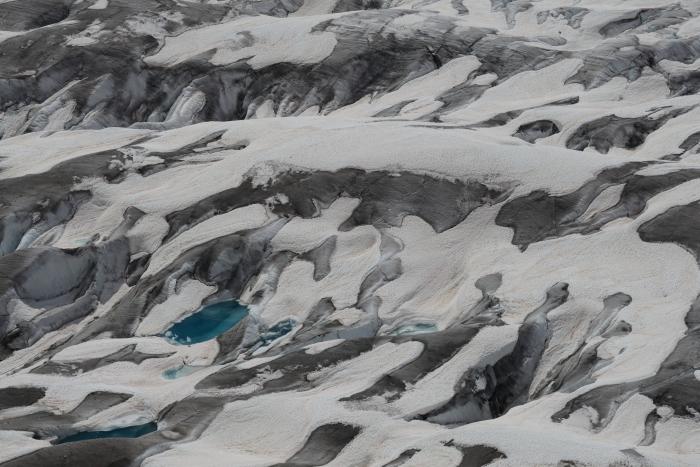 Textura del glaciar