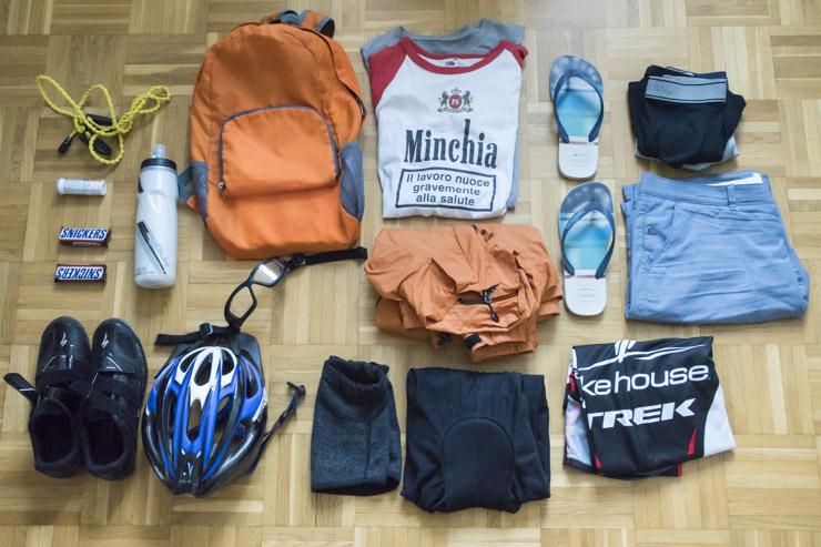 Todo lo que se necesita para pasear en bicicleta