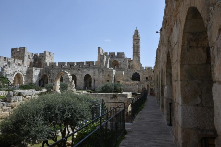 La Torre de David por dentro