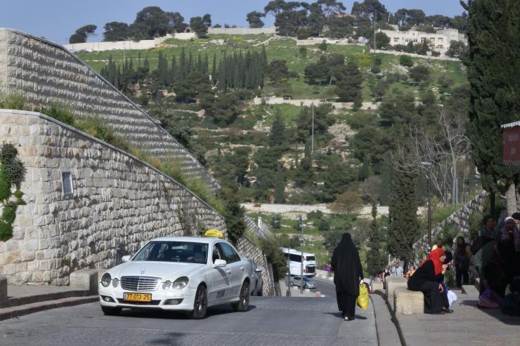 El monte de los olivos