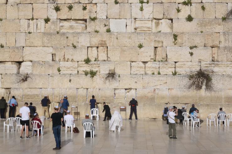 El muro de lamentos