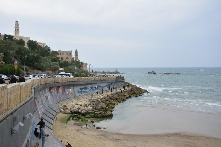 Playa para pescadores Jaffa