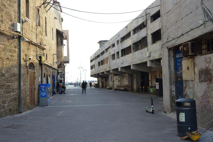 Entrada al puerto de Jaffa