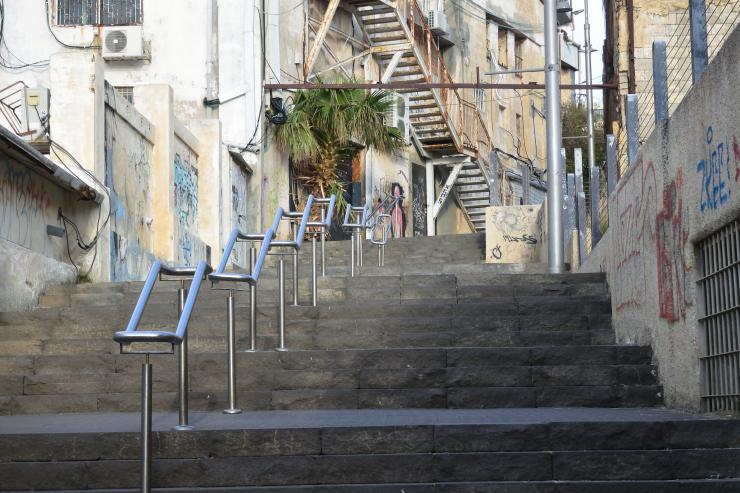 Escaleras en Jaffa