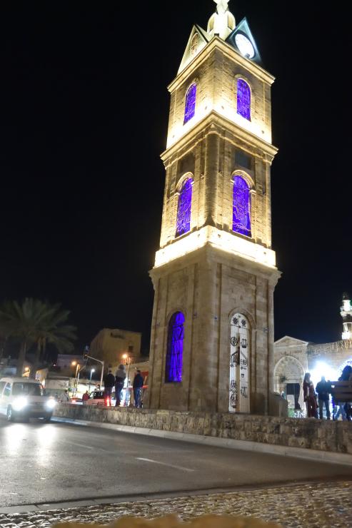 La torre del reloj Jaffa