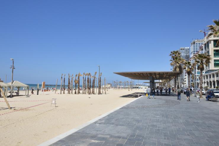 Costanera telaviv, muy parecida a la de Copacabana