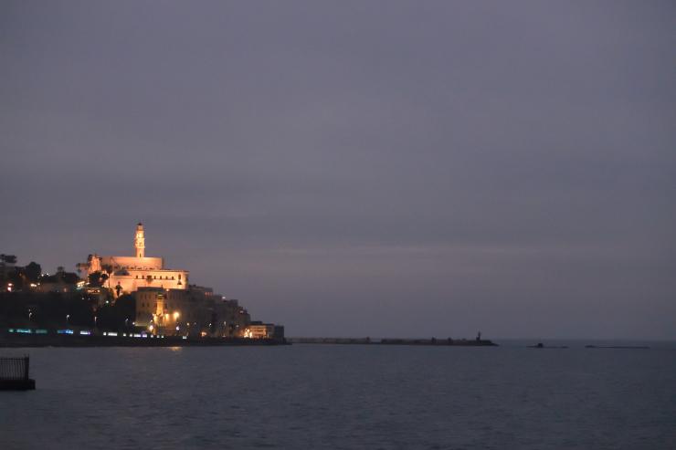 Jaffa de noche
