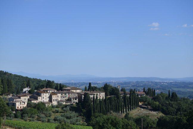 Paisajes de Chianti, Toscana