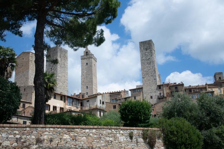 Torres sin ninguna funcionalidad en San Gimignano