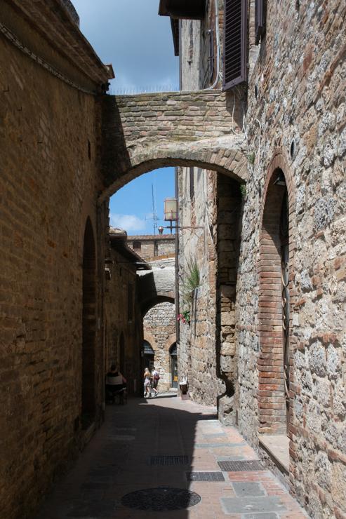 Callejuelas de San Gimignano