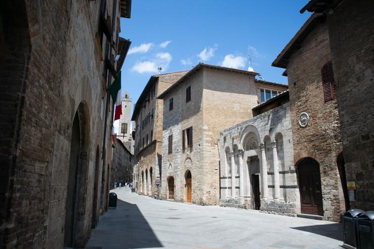 Calle Principal de San Gimignano