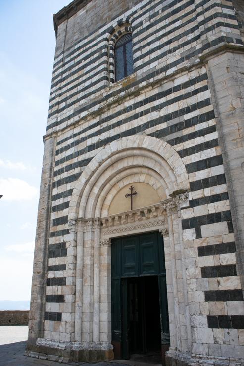 Battistero di San Giovanni Bautista. El Baptisterio de Juan Bautista. Volterra