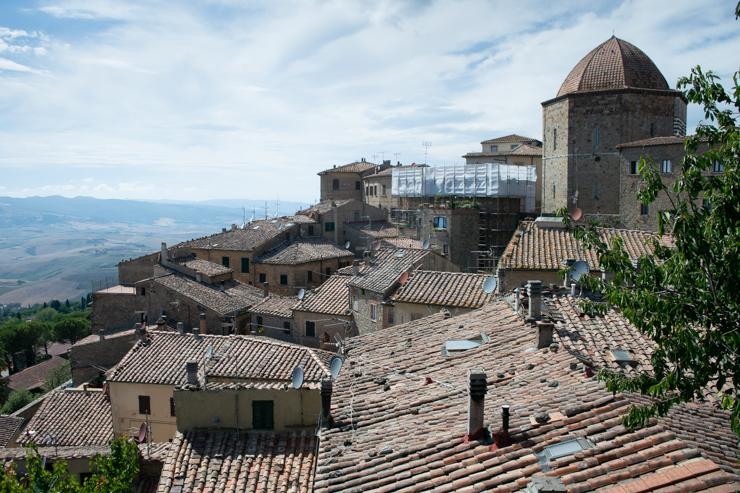 Panorámica de Volterra