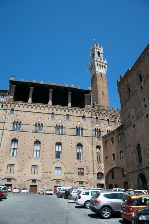 Il palazzo publico, la alcaldía de Siena