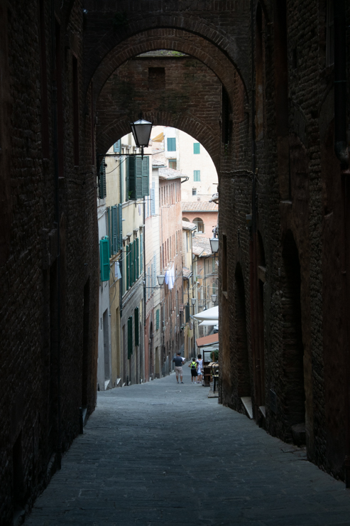 Calles de Siena