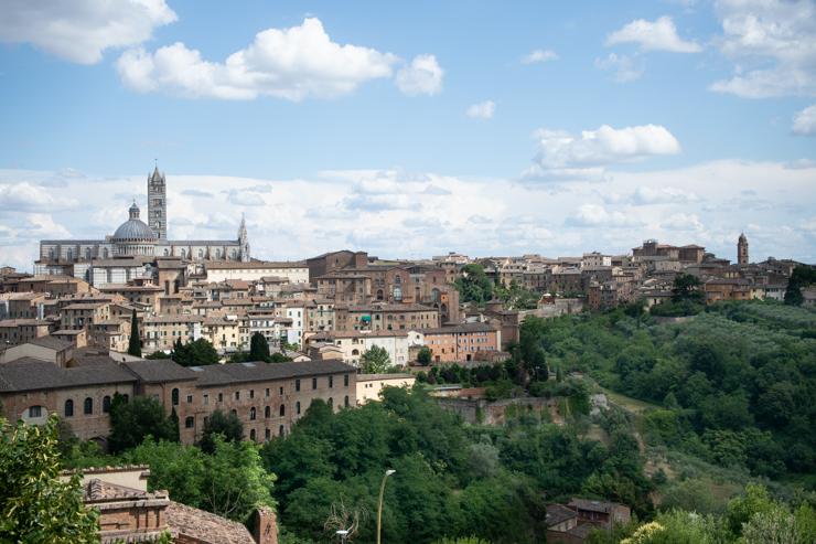 Panorámica de Siena