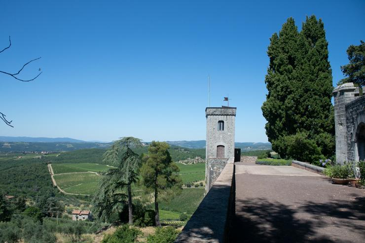 Il castello di Brolio, Chianti
