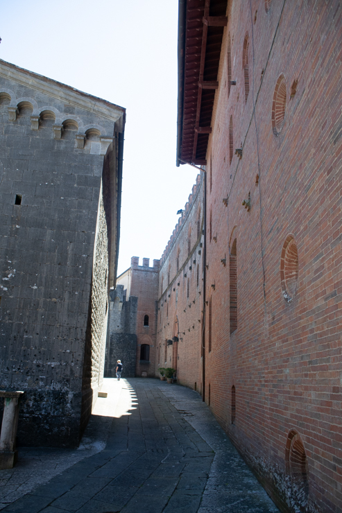Il Castello di Brolio por dentro