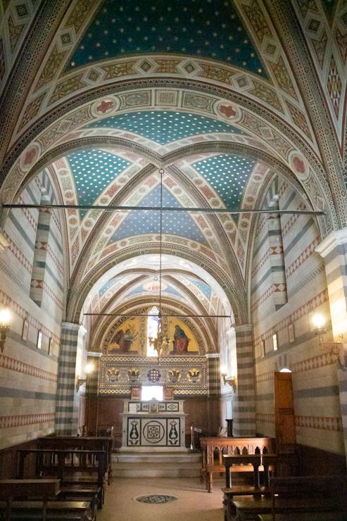 La iglesia privada de la familia Ricasoli