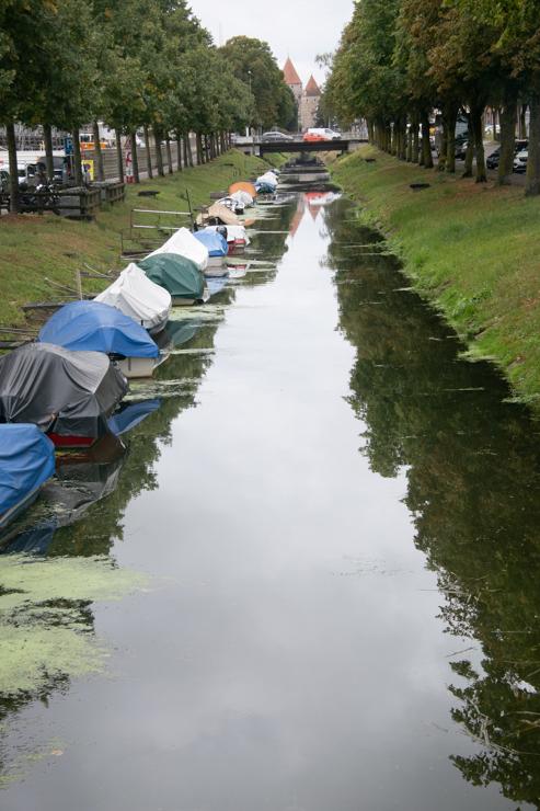 Canal en Yverdon les Bains