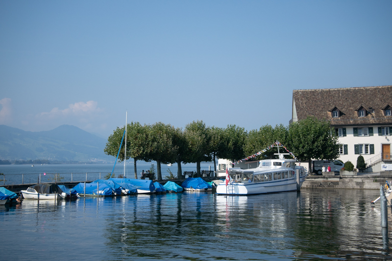 El lago de Zürich, Rapperswill