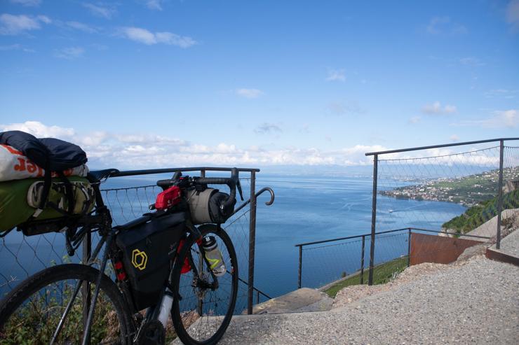 La Trek Checkpoint y el lago Lemán