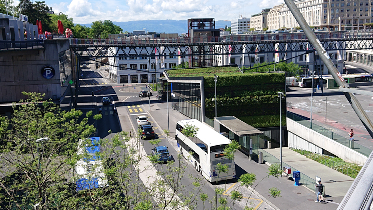 Lausanne tiene varios pisos
