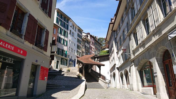 Ciudad vieja de Lausanne