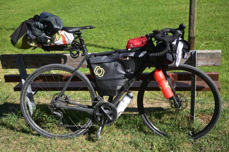 La bicicleta preparada para bikepacking