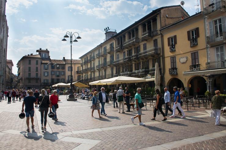 Piazza del Duomo en Como