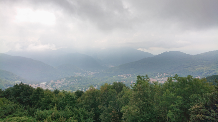 Vista desde la Colma di Sormano