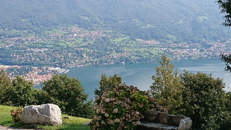Lago de Como desde la Madonnina